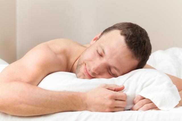 Bello dormire nudi!